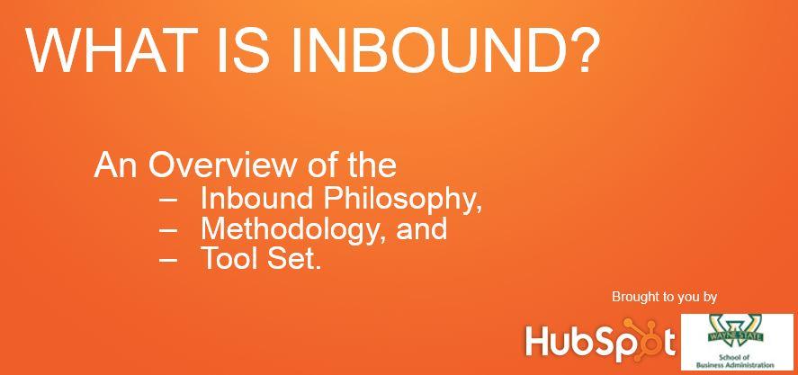 What is Inbound?