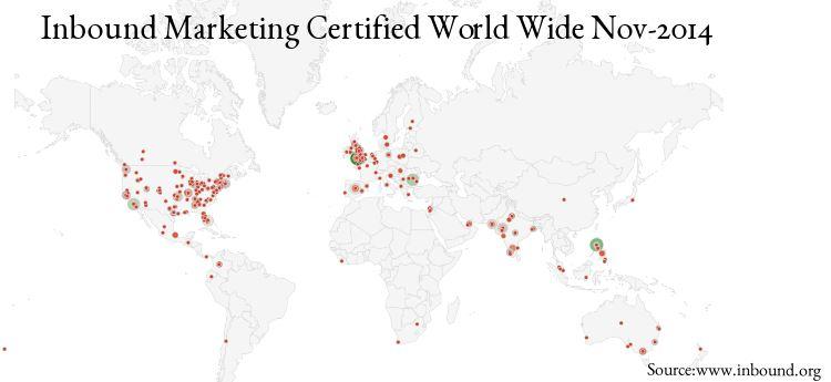 Inbound Certified Individuals Worldwide