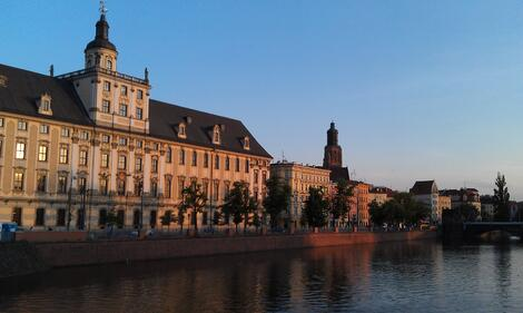 Poland University in Wroclaw - 1600s
