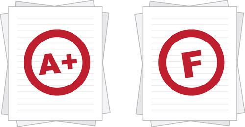 Graded Papers shutterstock_139647110