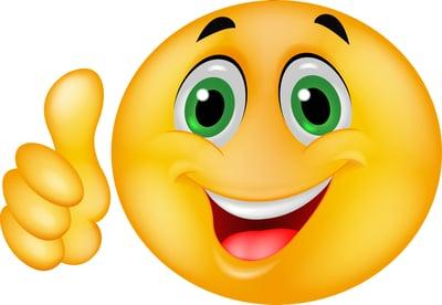 Happy emoticon shutterstock_118016578