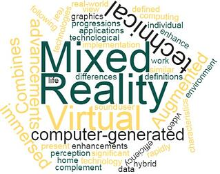 Mixed Reality Word Cloud