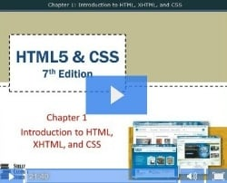 Chapter 1: Introduction to HTML, XHTML, & CSS - Part 1