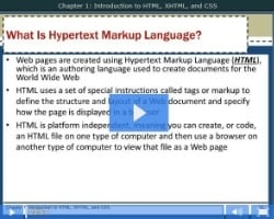 Chapter 1: Introduction to HTML, XHTML, & CSS - Part 2