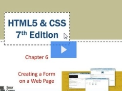 Chapter 6: Creating a Form on a Web Page