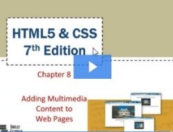 Chapter 8: Adding Multimedia Content to Web Pages