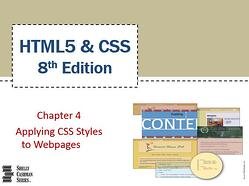 Chapter 4: Applying CSS Styles to Webpages - Part 1