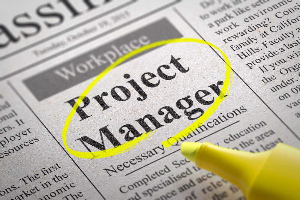 Project Manager Jobs in Newspaper
