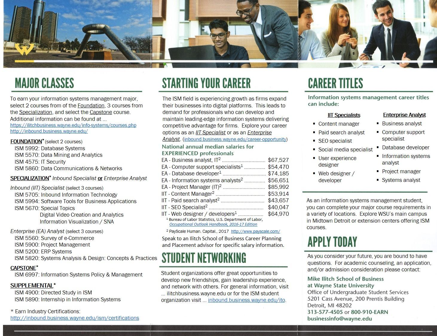 Back ISM Brochure  V12